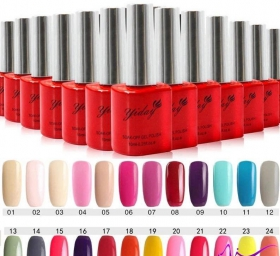 0187 Gel Yiday polish 10ml tone 08,17,21
