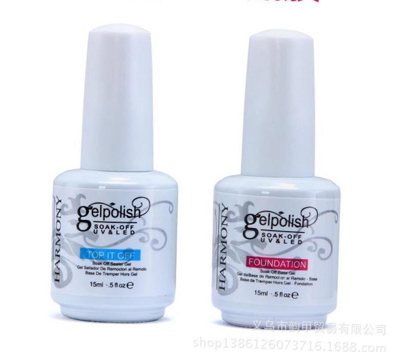 Gel polish : top & fou 15ml