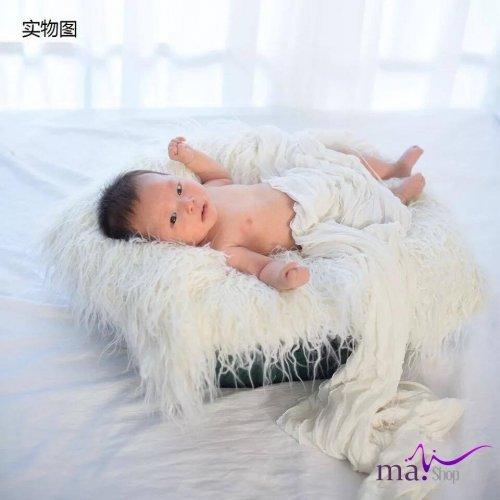 đạo cụ chụp hình cho bé thảm lông cúm