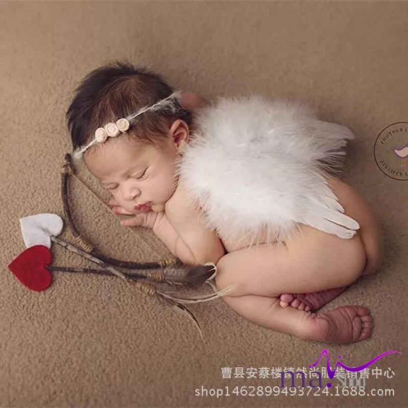 đạo cụ chụp hình cho bé Sét thiên thần+ cung tên