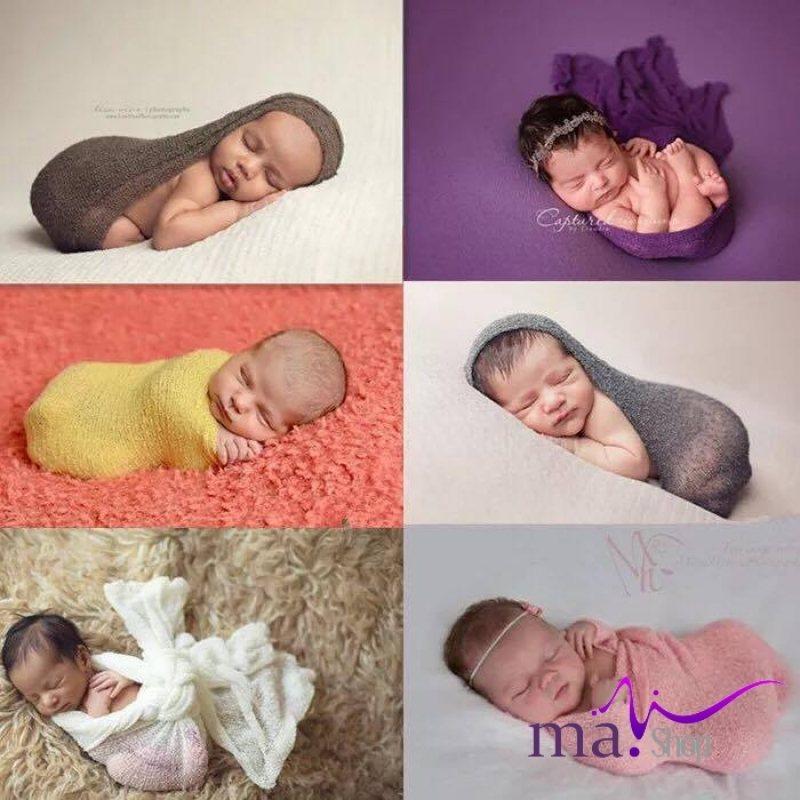 đạo cụ chụp hình cho bé chăn lông quắn sợi sơ sinh
