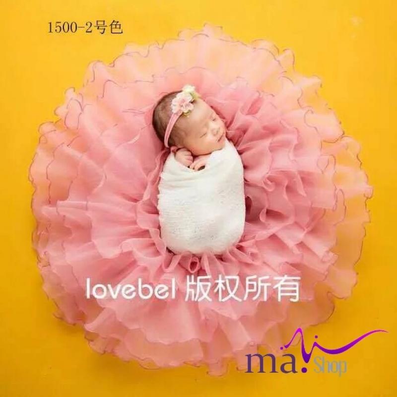 đạo cụ chụp hình cho bé Thảm lót xoè tầng công chúa