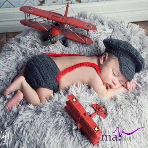 Đạo cụ chụp hình cho bé phi công nhí