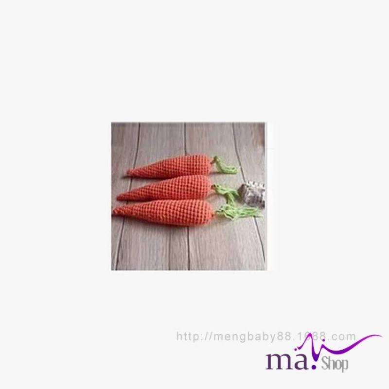 Đạo cụ chụp hình cho bé hình carot