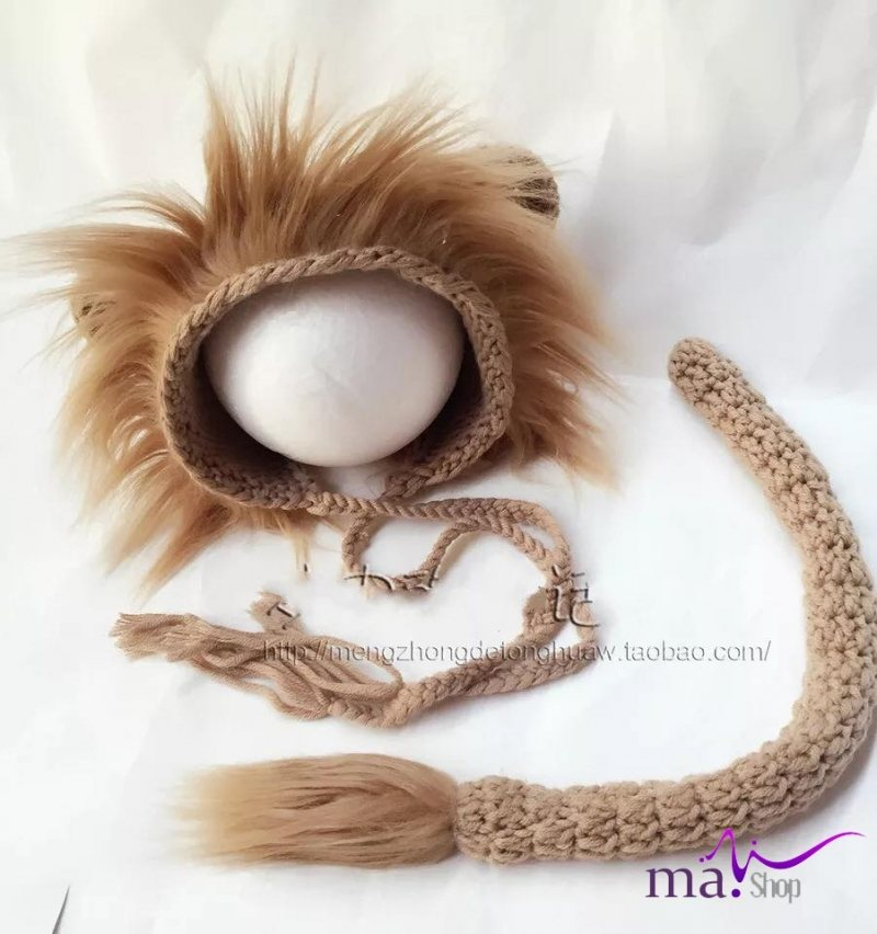 Đạo cụ chụp hình cho bé hình sư tử