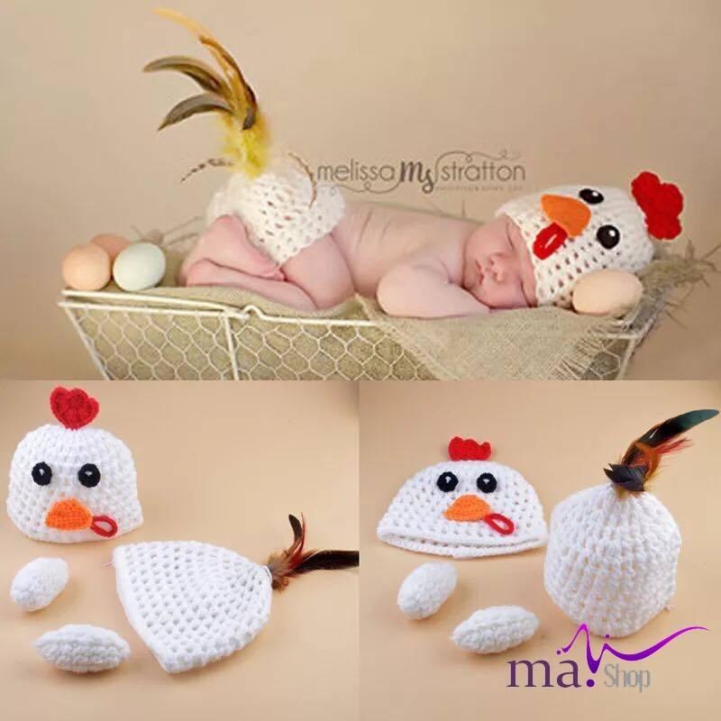 Đạo cụ chụp hình cho bé hình gà con