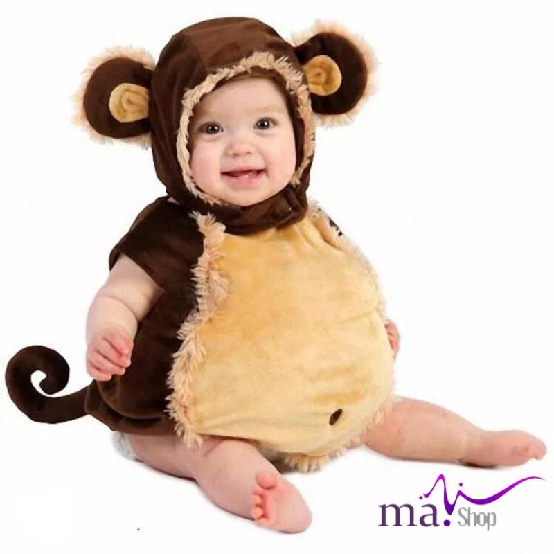 Đạo cụ chụp hình cho bé hình khỉ con