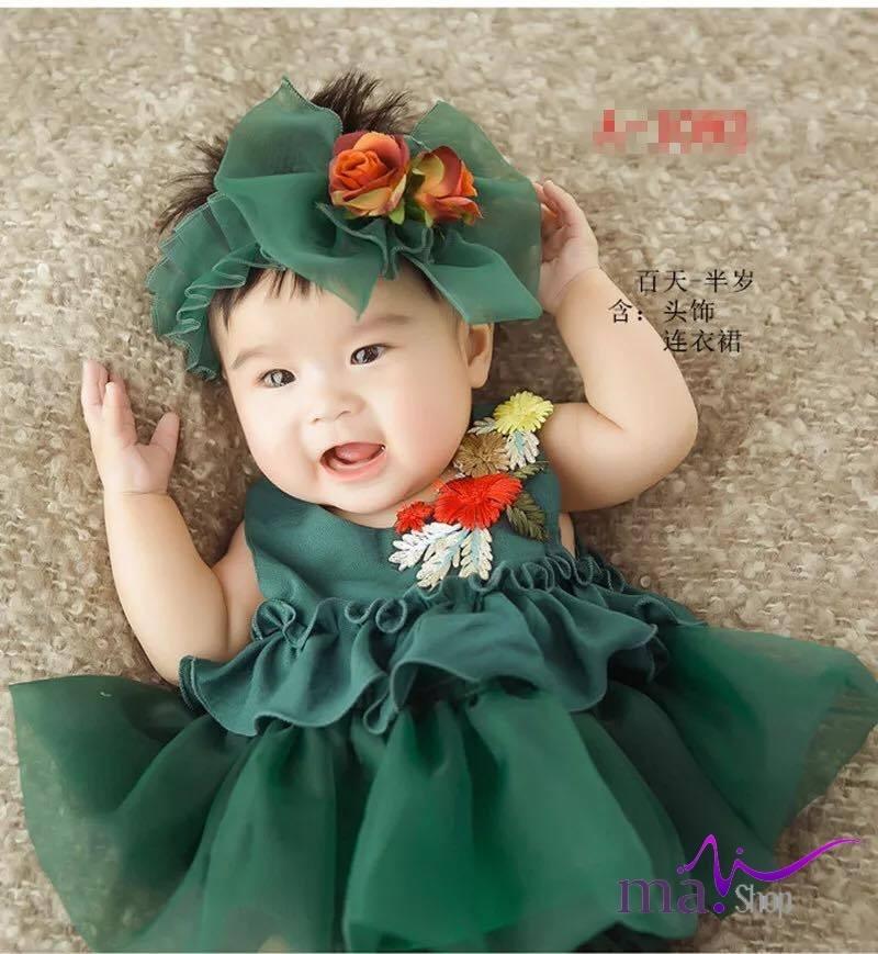 Váy chụp hình cho bé cao cấp