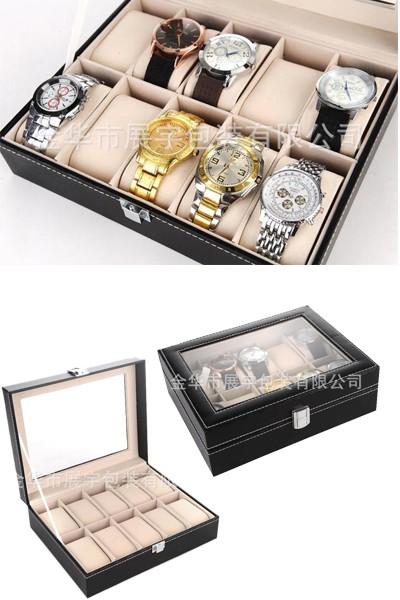 bán hộp đựng đồng hồ đeo tay cơ gỗ giá rẻ hcm 008