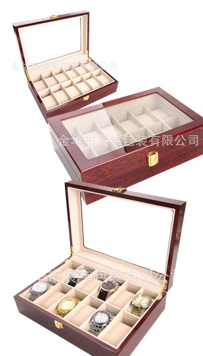 bán hộp đựng đồng hồ đeo tay cơ gỗ giá rẻ hcm 009