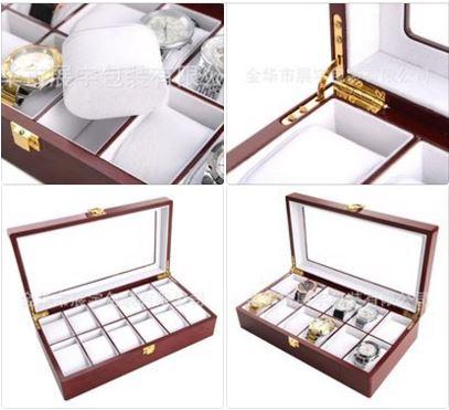 bán hộp đựng đồng hồ đeo tay cơ gỗ giá rẻ hcm 010