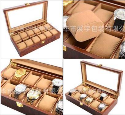 bán hộp đựng đồng hồ đeo tay cơ gỗ giá rẻ hcm 011