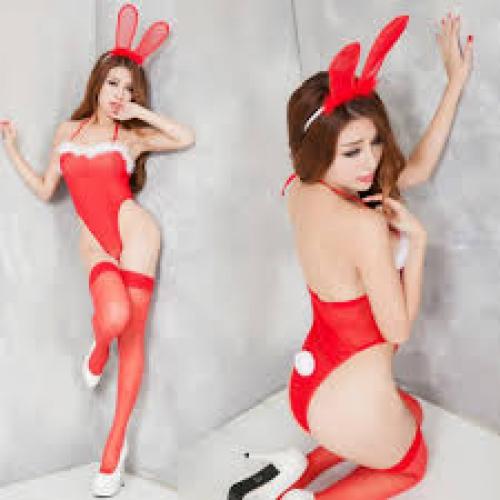 0740 jum Noel thỏ ngọc sexy