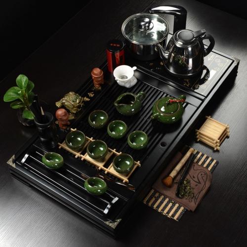 0027 bộ Bàn trà điện gỗ quý cao cấp