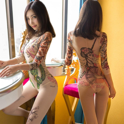 1063 Cosplay da tattoo sexy