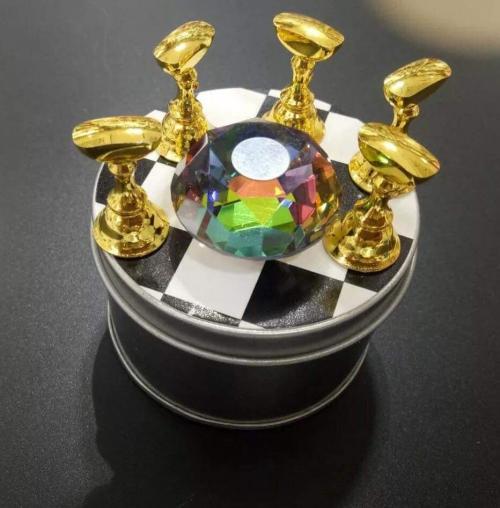 0872 Đế gắn móng mẫu tập sơn diamond
