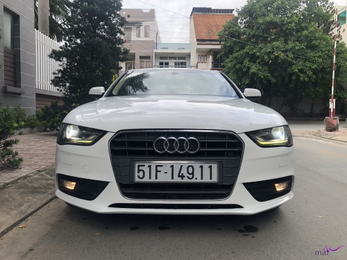 Cần bán Audi A4 model 2015, màu trắng, xe nhập Đức