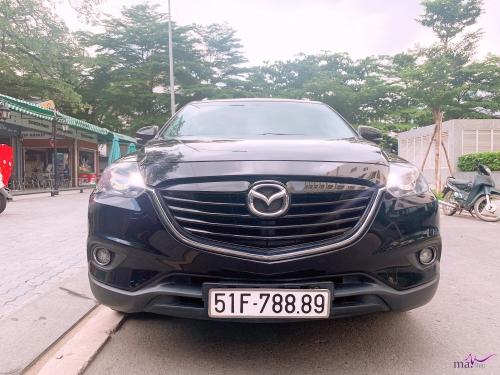 Mazda CX9 4WD 2 cầu xe nhập Nhật 2014, màu đen VIP