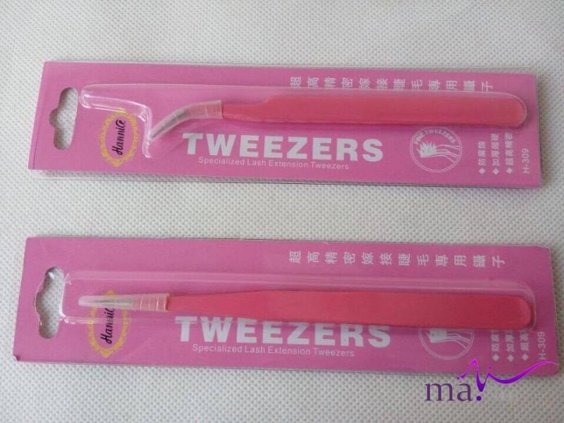 090 nhíp gấp mi Tweezers